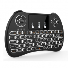 Mini tastatura Wireless portabila, Mouse Touchpad integrat si acumulator