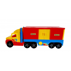 Camion container cu usi, lungime 80 cm, Wader