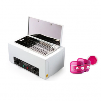 Set Sterilizator PUPINEL Salon cu aer cald + 2 Geluri uv Color Perfect