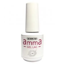 Top lucios pentru oja semipermanenta, amma Gel Lac, 15 ml