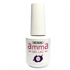 Oja semipermanenta, AmmA Gel Lac, Deep Mauve, Mov, 15 ml