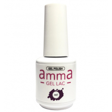 Oja semipermanenta, AmmA Gel Lac, Elegant Mauve, Mov, 15 ml