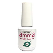 Oja semipermanenta, amma Gel Lac, Green Oasis, Verde, 15 ml