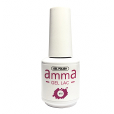 Oja semipermanenta, AmmA Gel Lac, Intense Rose, Roz, 15 ml