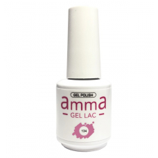 Oja semipermanenta, AmmA Gel Lac, Piggy Pink, Roz, 15 ml