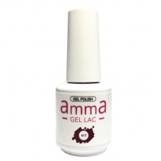 Oja semipermanenta, AmmA Gel Lac, Red Plum, Visiniu, 15 ml