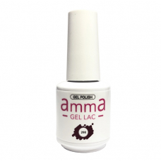 Oja semipermanenta, AmmA Gel Lac, Shallow Red, Mov, 15 ml