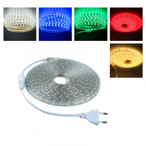 Banda led decorativa interior-exterior 5M cu adaptor priza