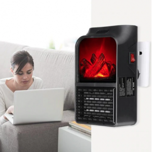 AEROTERMA PORTABILA FLAME HEATER, 900 W, 2 NIVELURI TEMPERATURA, DISPLAY DIGITAL