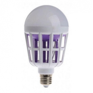 Bec anti-insecte cu led 15 W. Lampa UV anti-tantari.