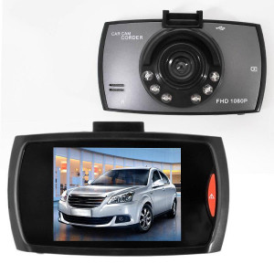 Camera auto DVR HD Night Vision. Ecran 2.4 inch. Senzor de miscare.